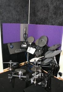Drum corner with treatment